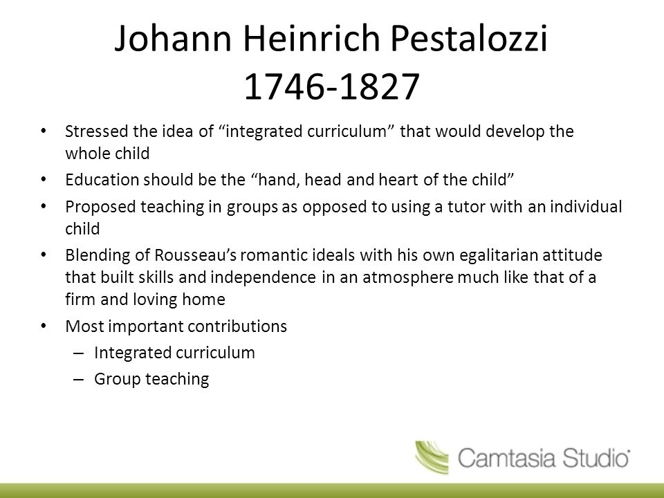 pestalozzi method of education