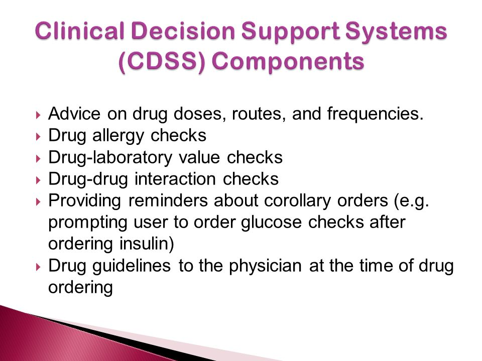  Advice on drug doses, routes, and frequencies.