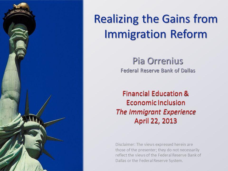 Financial Education & Economic Inclusion The Immigrant