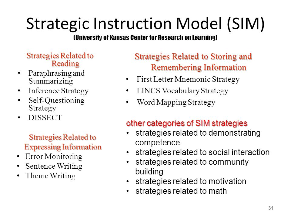 Literacy At The Middle School Level Using The Clc To Guide Rti