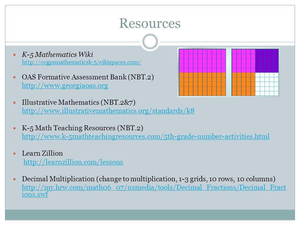 CCGPS Mathematics Fifth Grade Update Webinar Unit 3: Multiplying and ...