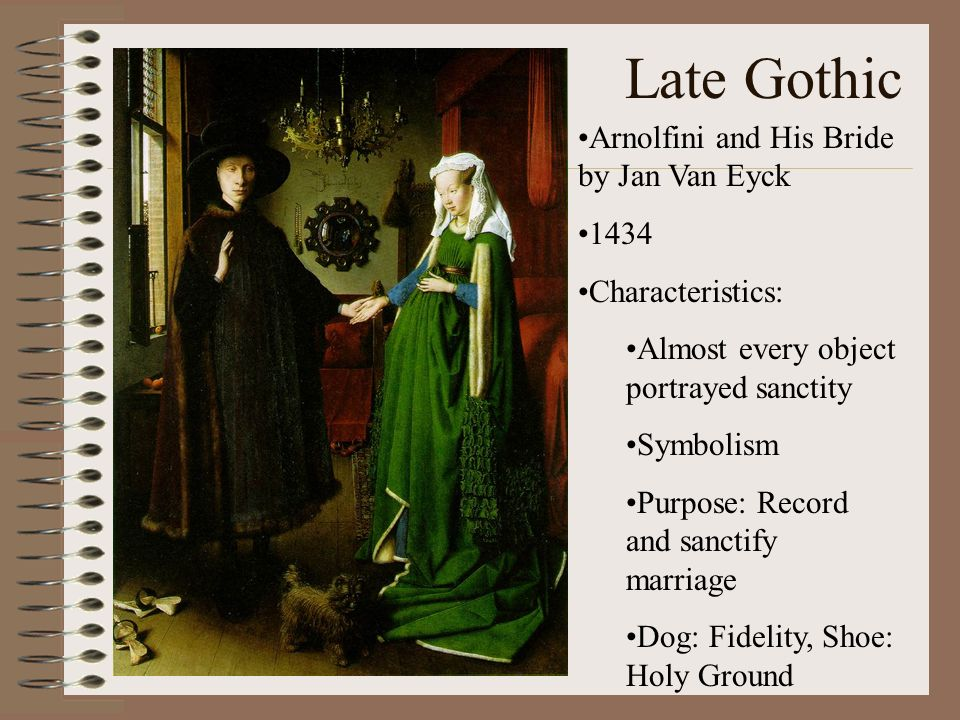 Ap Art Historys Greatest Hits Part Two Late Gothic Arnolfini And