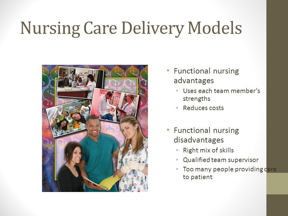 nursing care delivery models team nursing