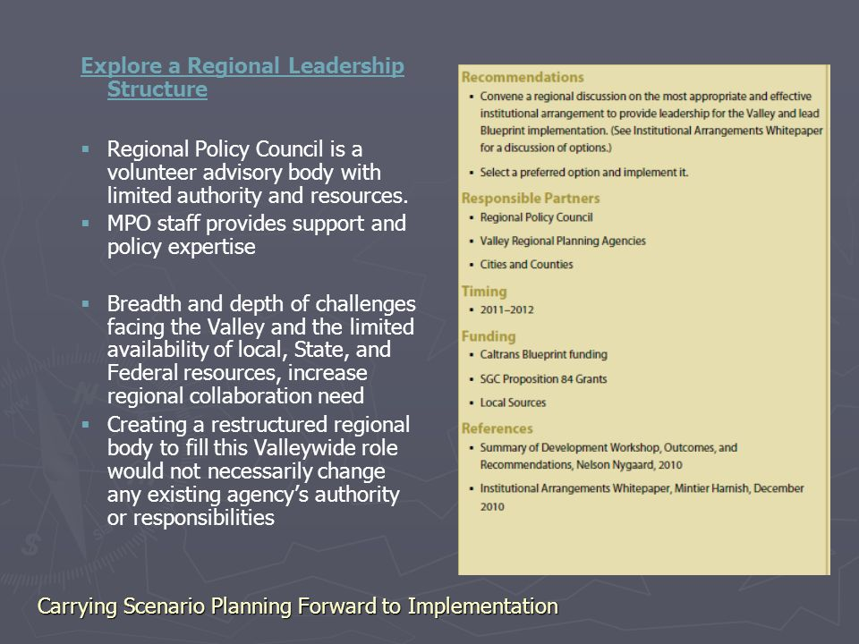Carrying scenario planning forward to implementation plans are only 10 explore malvernweather Gallery