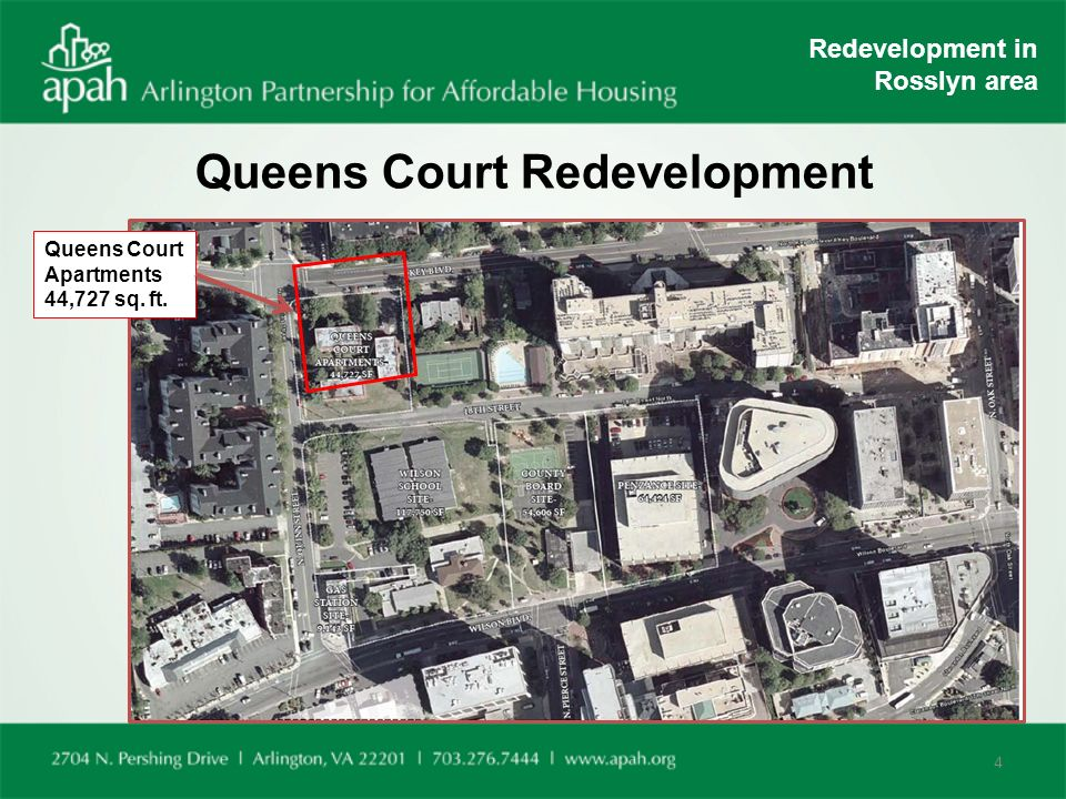 4 Queens Court Redevelopment Apartments 44 727 Sq Ft In Rosslyn Area