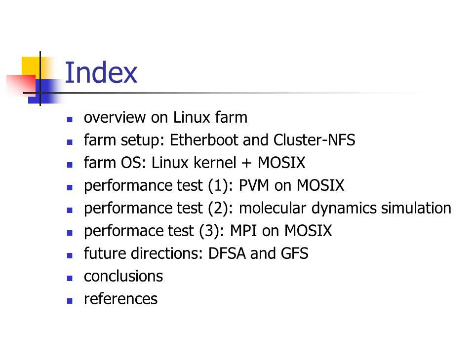 MOSIX: High performance Linux farm Paolo Mastroserio Francesco Maria