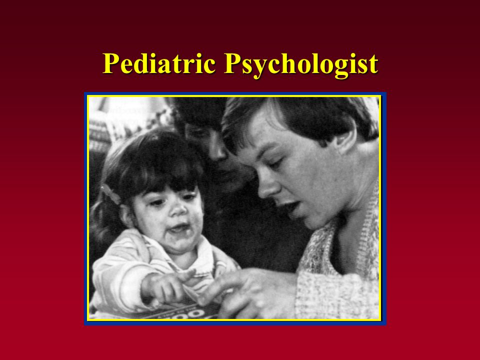Pediatric Psychologist