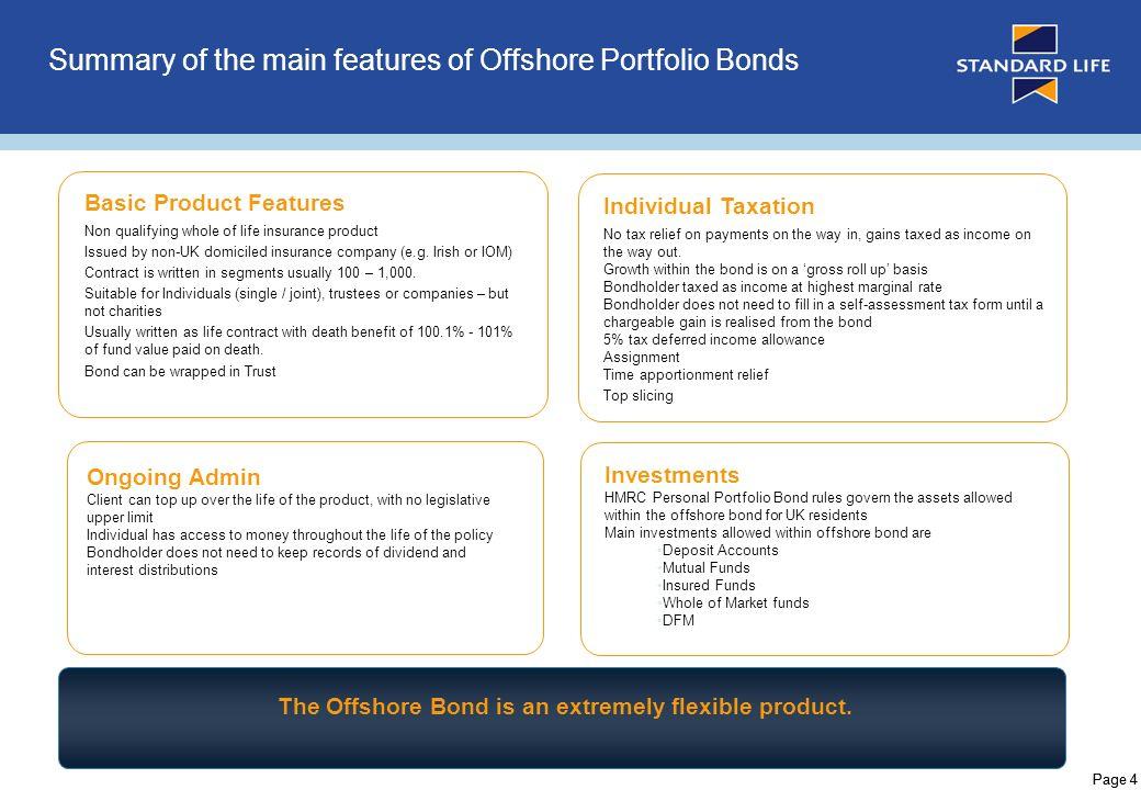 Offshore investment bond hmrc self investment ne turizem na