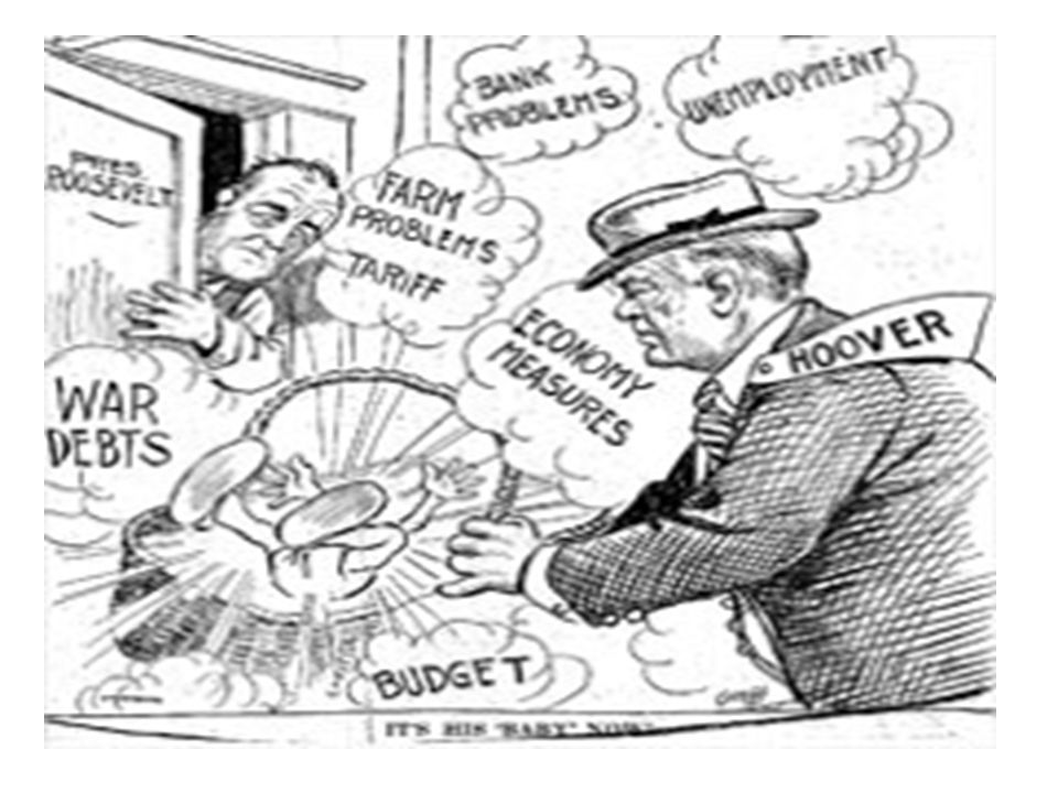 causes of the great depression hoover elected president election of Stoke Market 1930s Depression Charts 4 leading causes of depression industries don t reinvest profits into new machinery farmers overproduce as europe recovers from the war