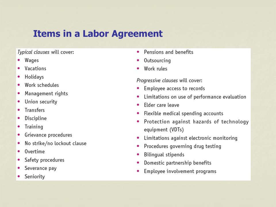 Labor Relations 2 The Labor Relations Process Union Organizing