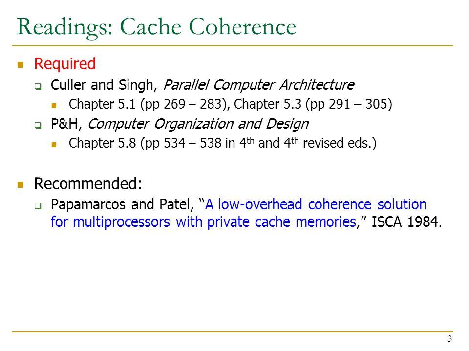18 447 Computer Architecture Lecture 30b Multiprocessors Prof Onur Mutlu Carnegie Mellon University Spring 2013 4 22 Ppt Download