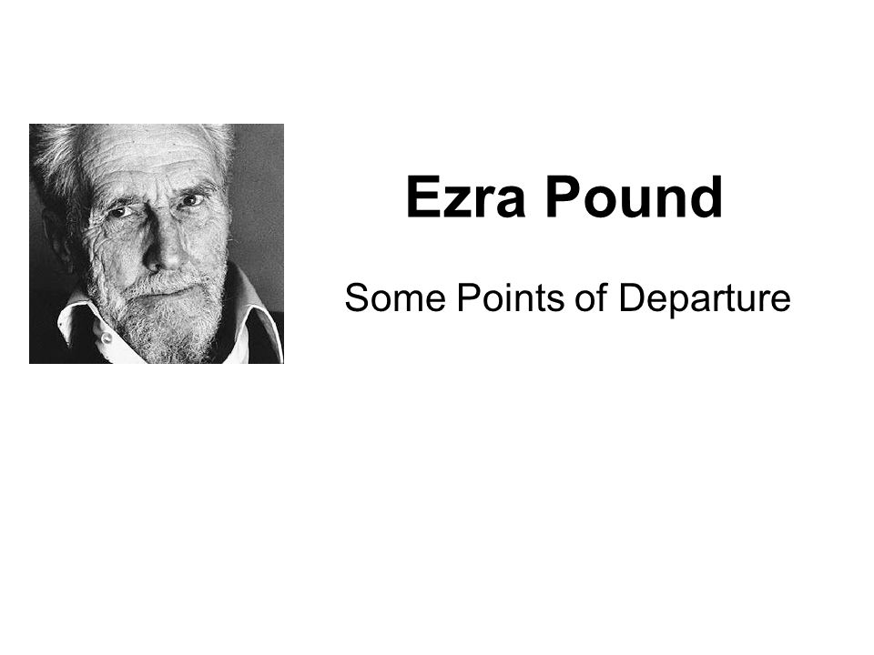 make it new , said ezra pound essay - ezra pound summed up modernism in three short words: make it new it is an imperative that his fellow writers applied to their own works, severing with the realists, whose concepts of narrative were less radical and more reader-friendly.