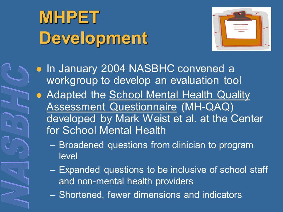 Mental Health Program Evaluation Template Mhpet Online Ppt Download