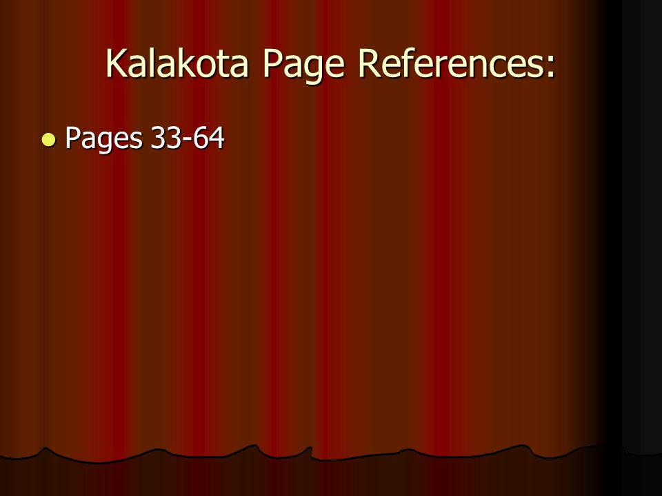 Kalakota Page References: Pages Pages 33-64