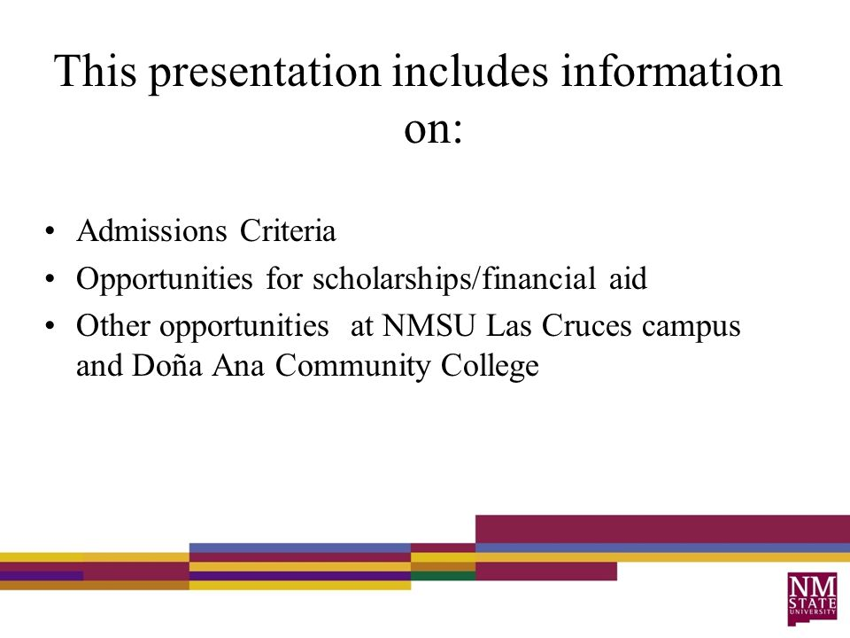Nmsu Financial Aid >> Higher Education Opportunities For Immigrant Students