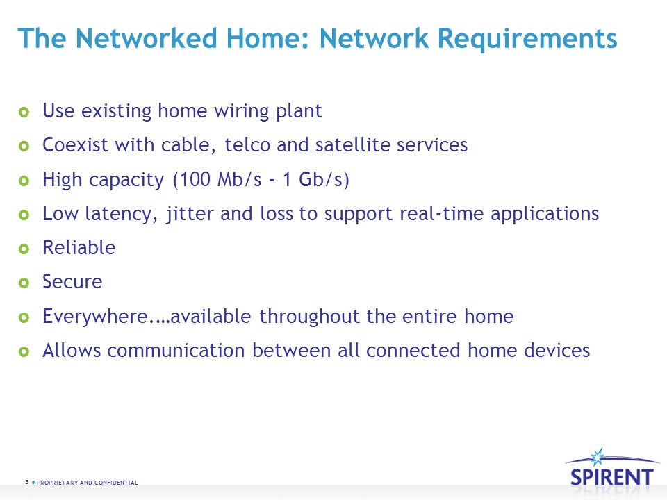 PROPRIETARY AND CONFIDENTIAL MoCAHOME NETWORK INSTALLATION AND ...
