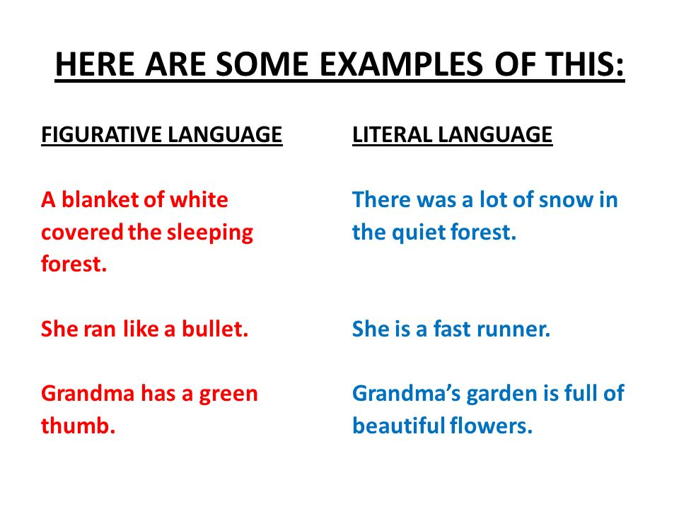 Figurative Vs Literal Language Whats The Difference Figurative