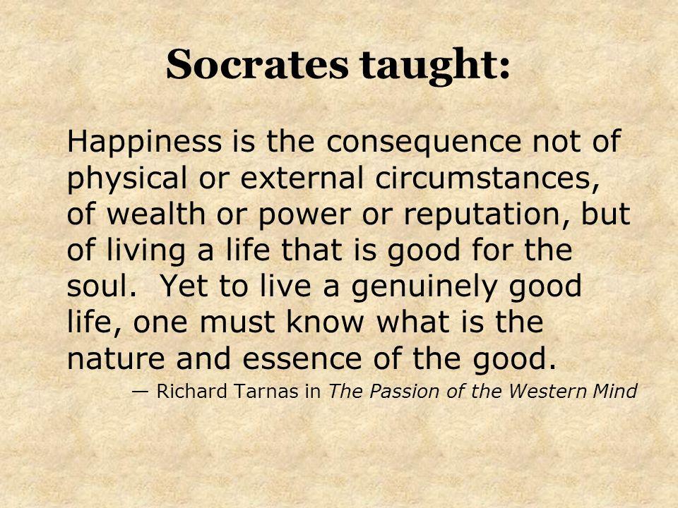 the good life philosophy