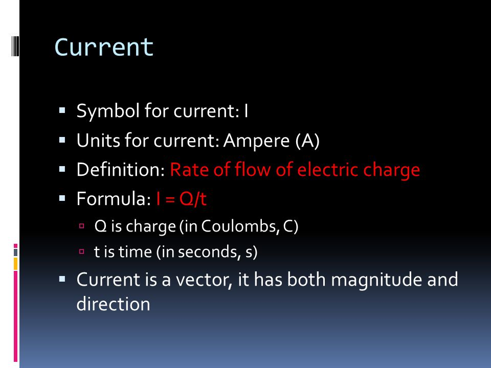 Textbook Chp 17 Topics Current Electromotive Force
