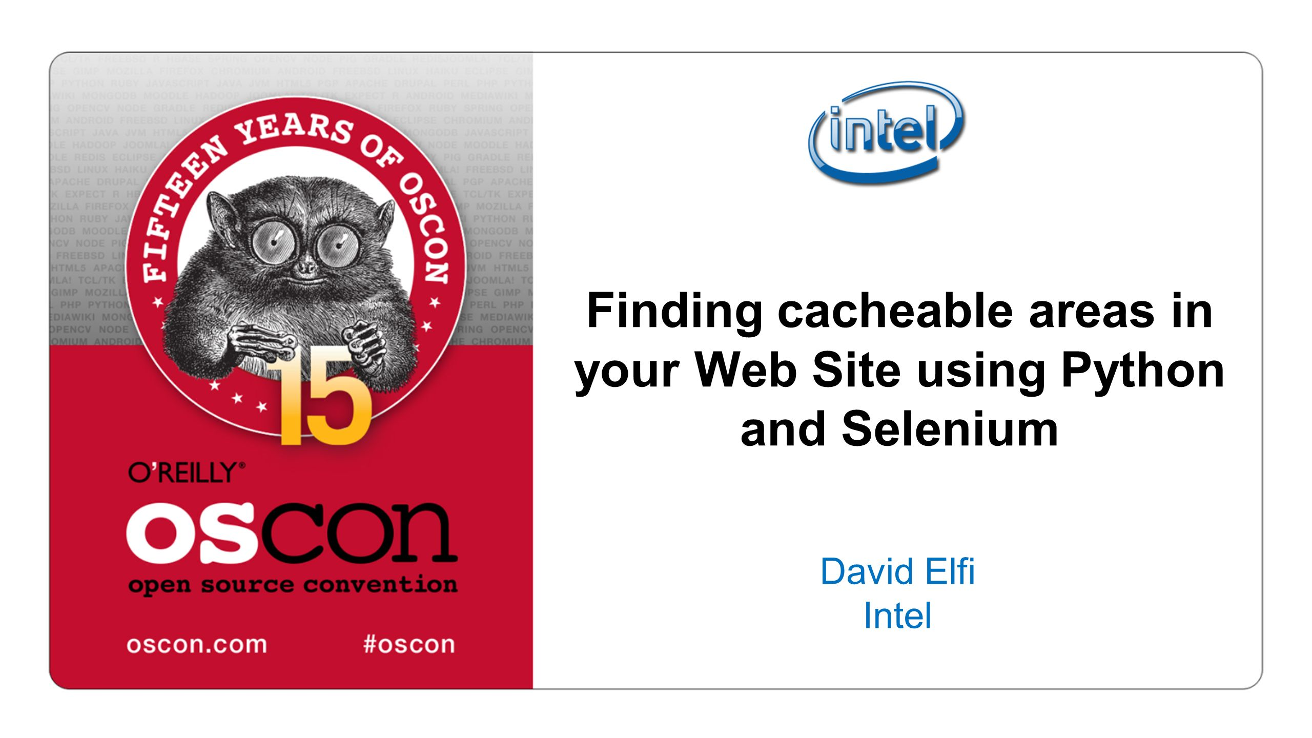 Finding cacheable areas in your Web Site using Python and