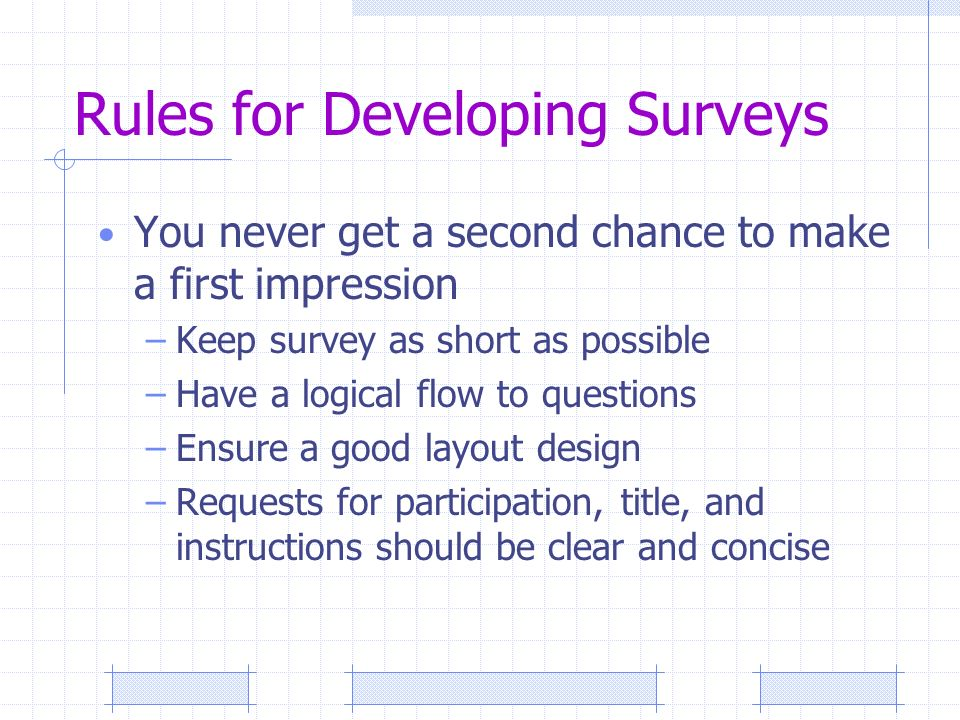 building a better survey katie busby phd director of student
