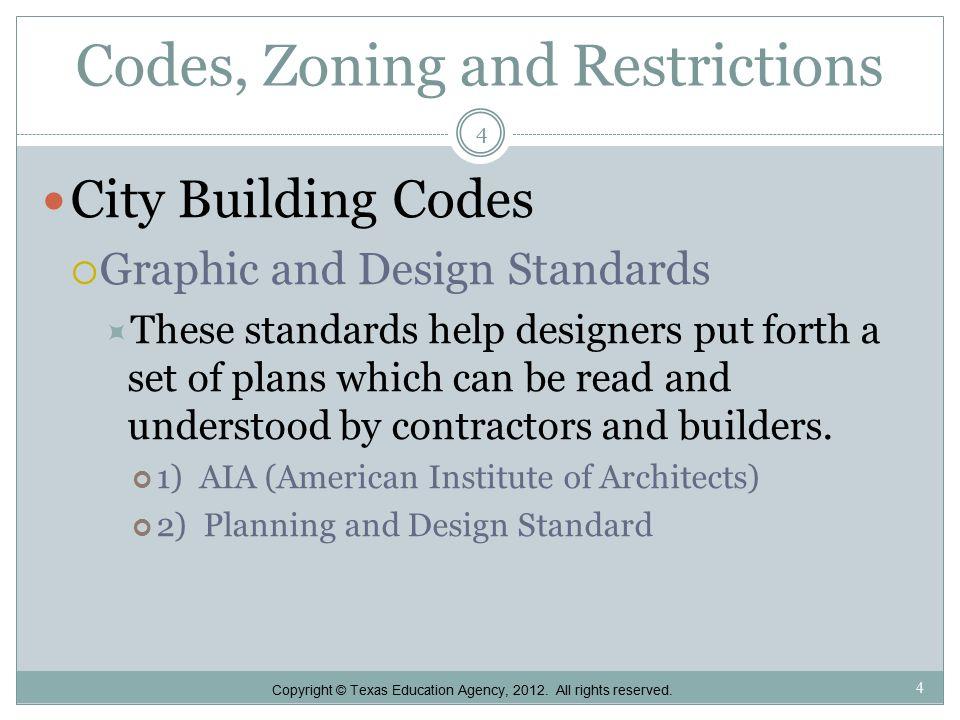 Architectural Design Residential Design Criteria 1 1 Copyright