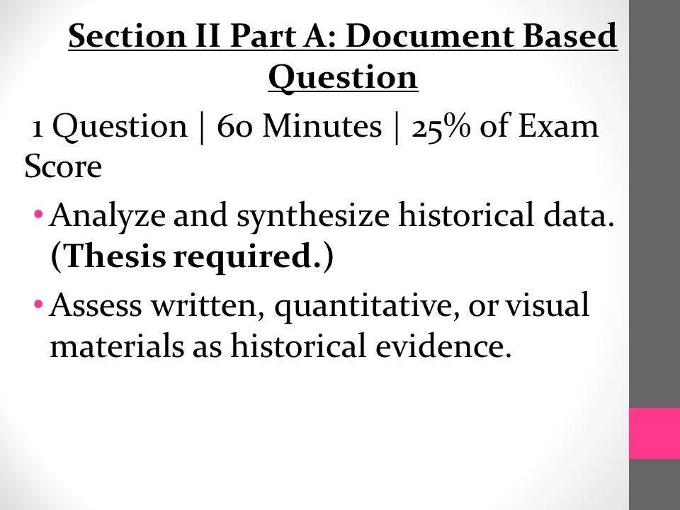 2015 AP US History Exam Section I Part A Multiple Choice