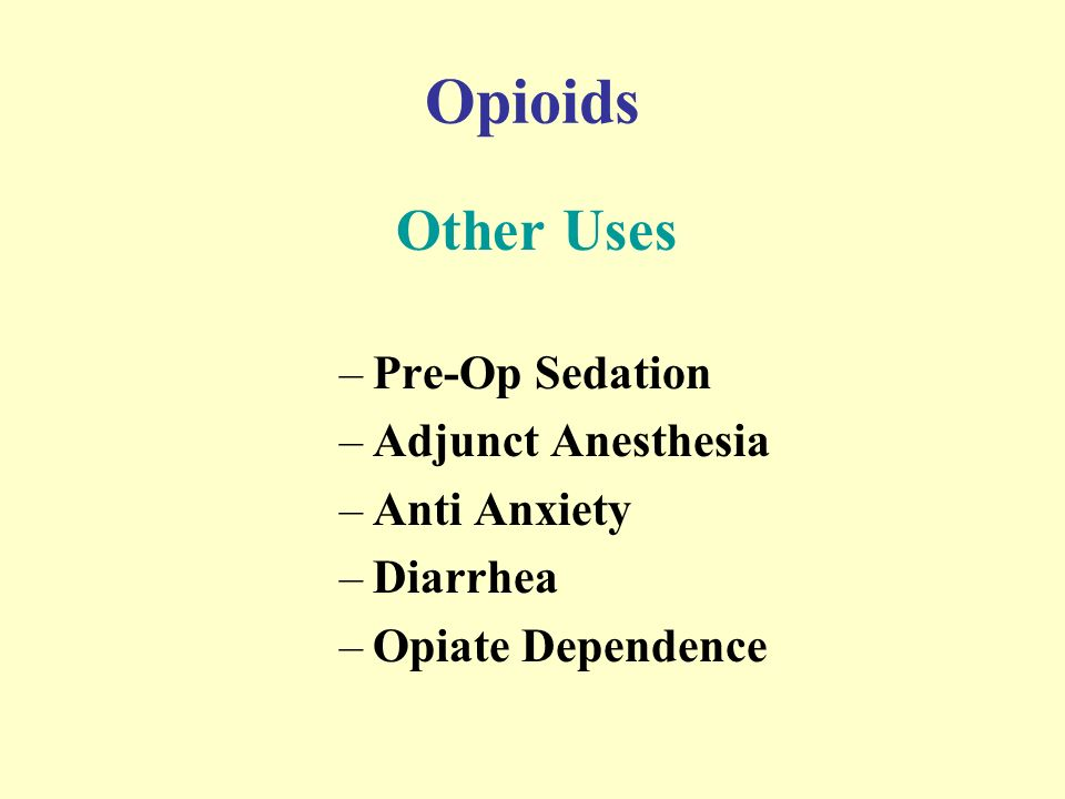 Narcotic Analgesic Medications Narcotic Analgesics  - ppt