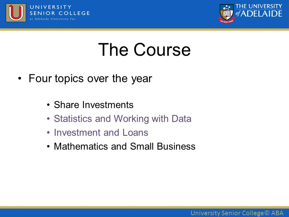 university senior college aba mathematical applications 2mcn anna rh slideplayer com