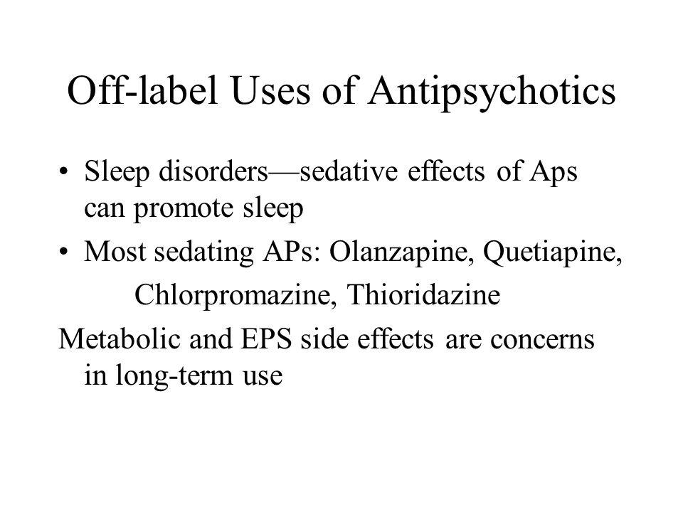 Sedating anti psychotics and ocd