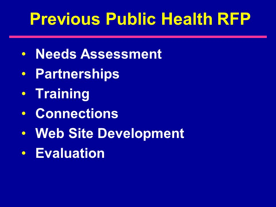 Future Directions Angela Ruffin Public Health Outreach Forum