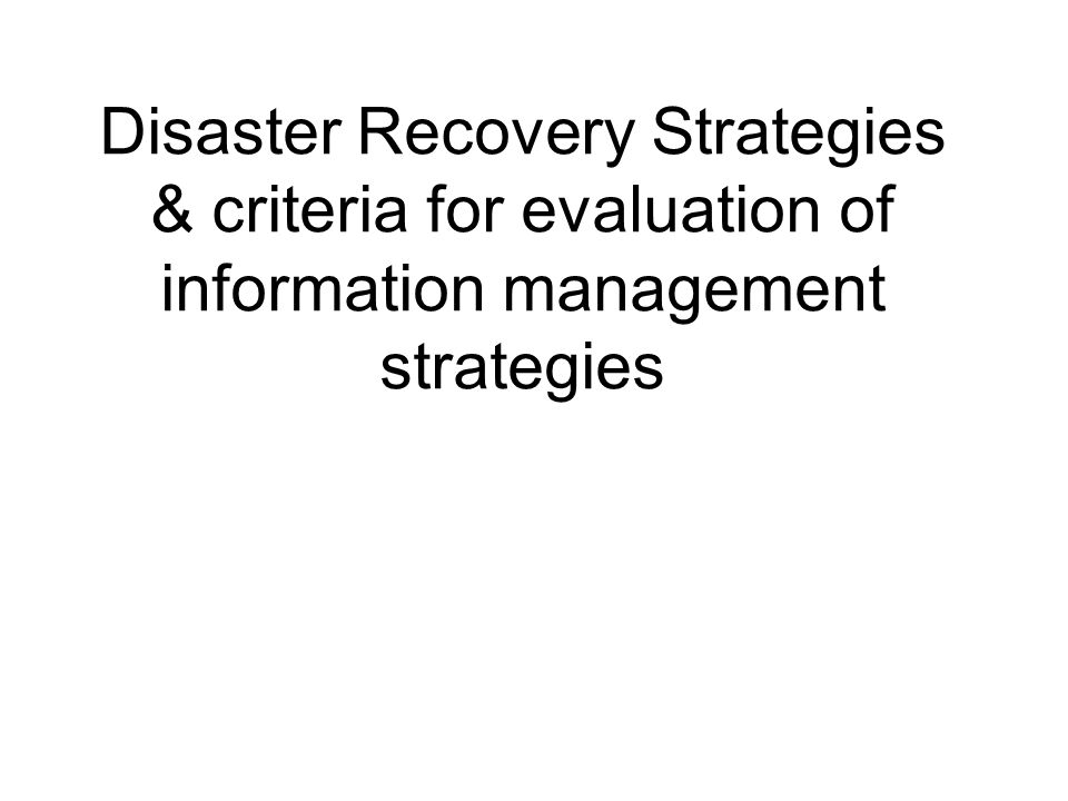 evaluation of information system ppt