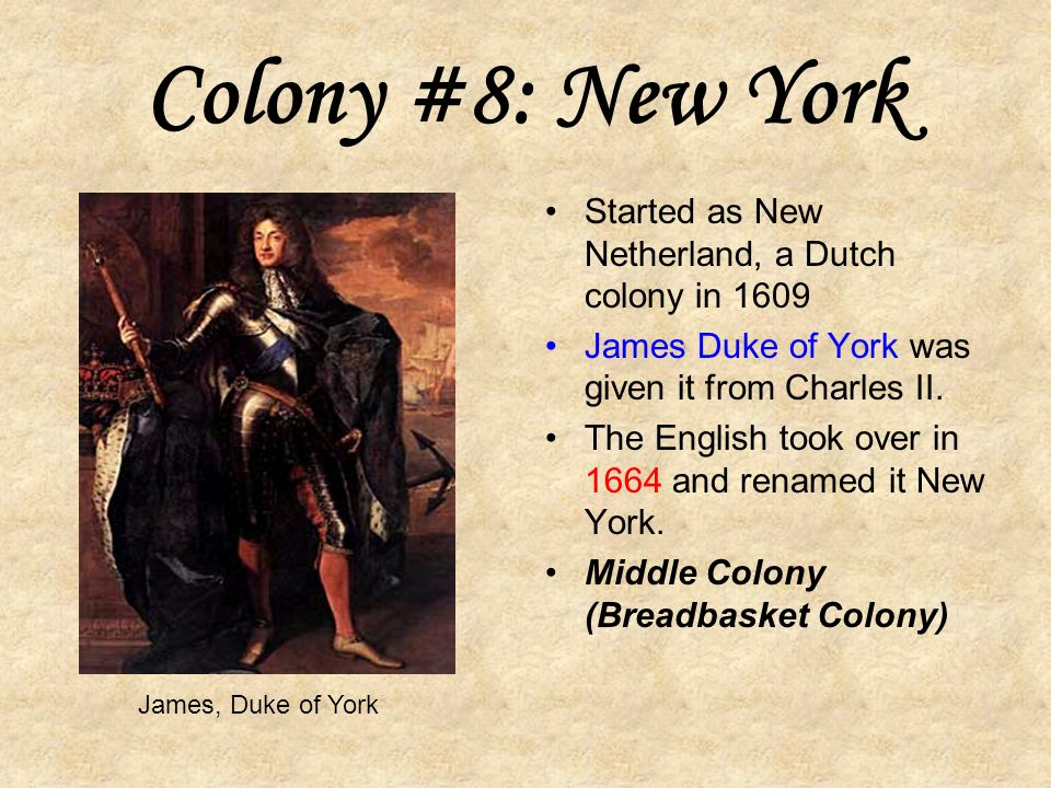 Colony #7: South Carolina In 1729 South Carolina received its name after a political dispute and became a colony.