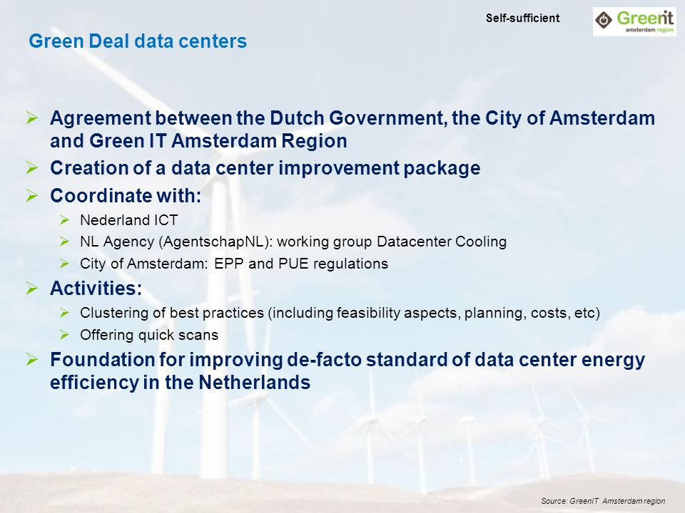 1 Ict Energy And Data Centers A Holistic View John Post Managing