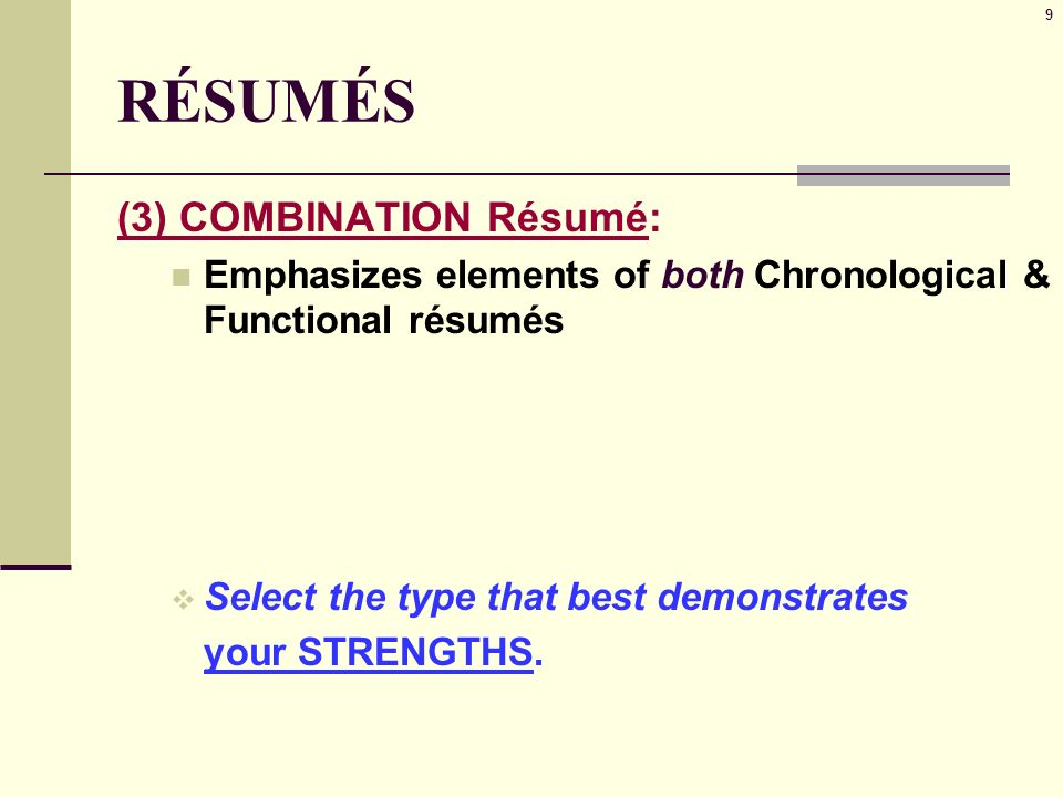 Job Search Resumes 2 What To Include A Few Major Points Of