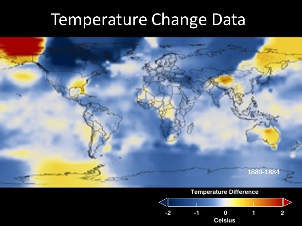 Temperature Change Data
