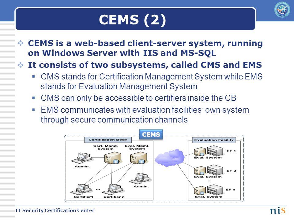 Updates On Korean Scheme It Security Certification Center National