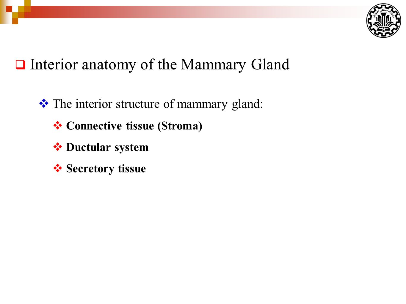 Lactation Physiology (part 1) By: A. Riasi (PhD in Animal Nutrition ...