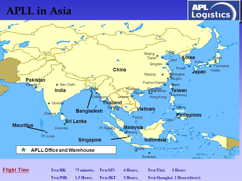1 Apll In Asia China An Philippines Korea India Sri Lanka Thailand Vietnam Taiwan Indonesia Malaysia Stan Singapore Desh Taipei Kaohsiung Osaka