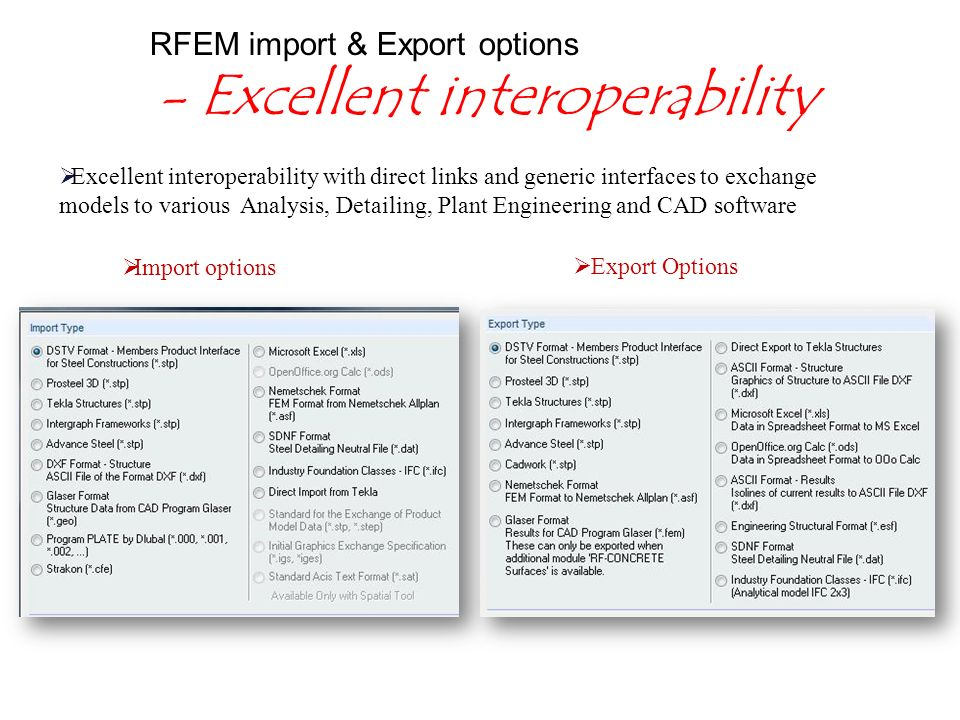 Welcome to the presentation of RFEM Object based Modeling Powered by