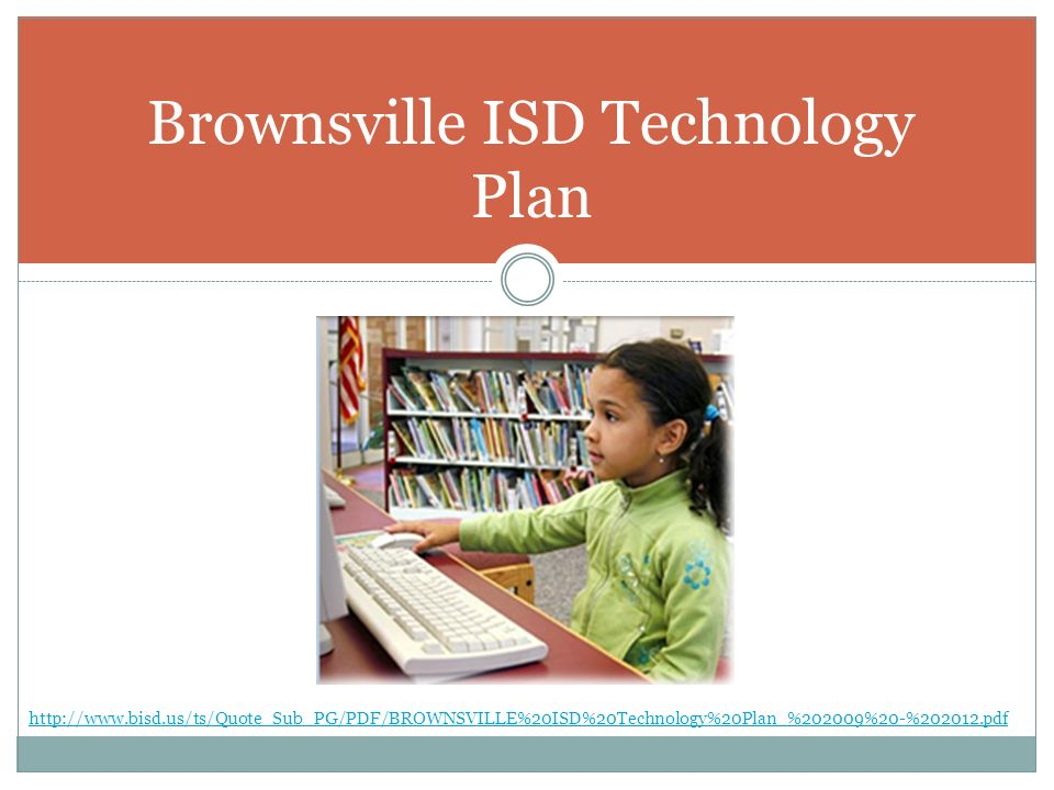Brownsville ISD Technology Plan