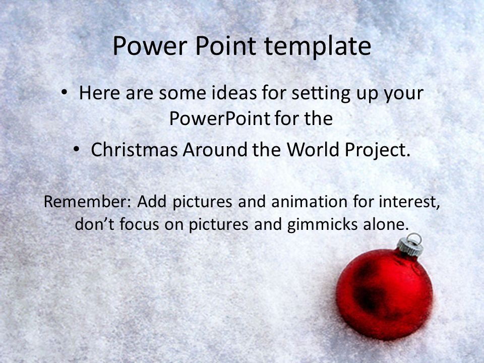 power point template here are some ideas for setting up your