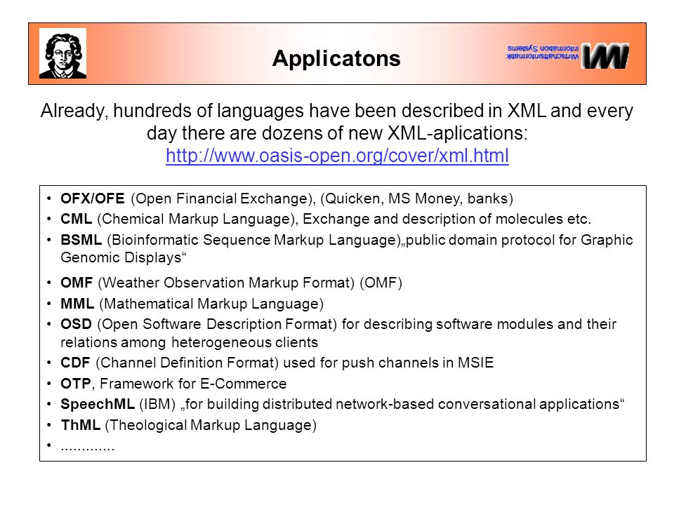 Advantages of XML Installed ba...