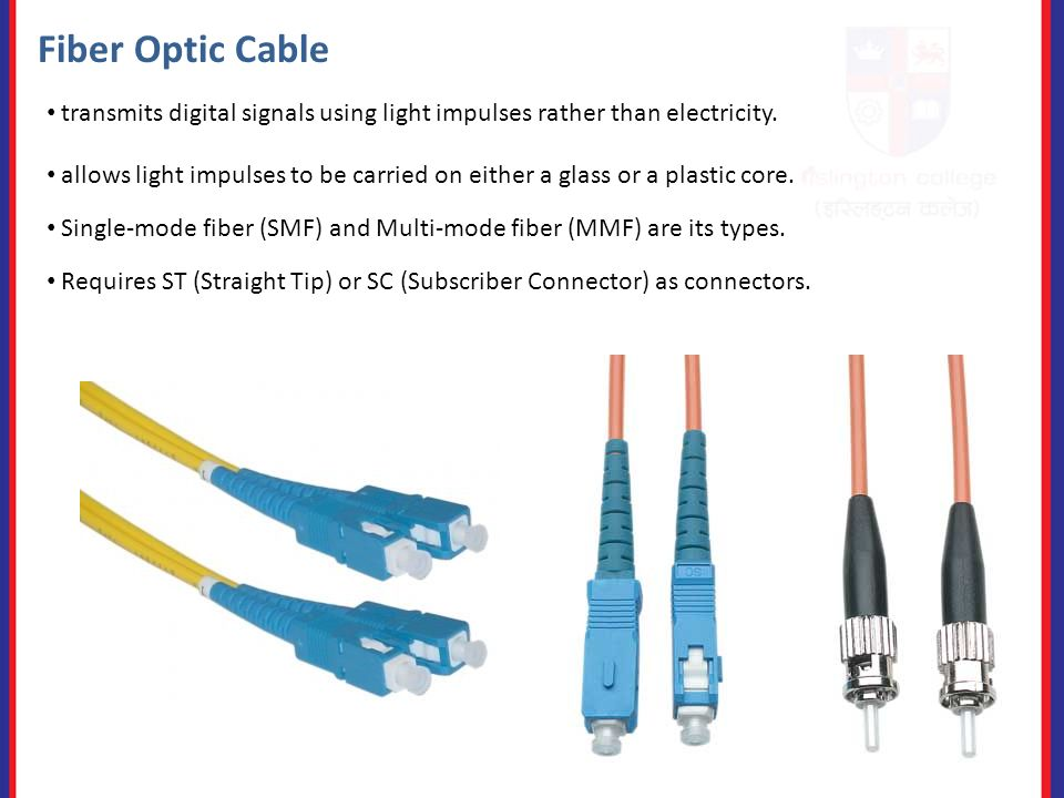 Lesson 4 – Network Connectors and Wiring Standards Coaxial Cable ...