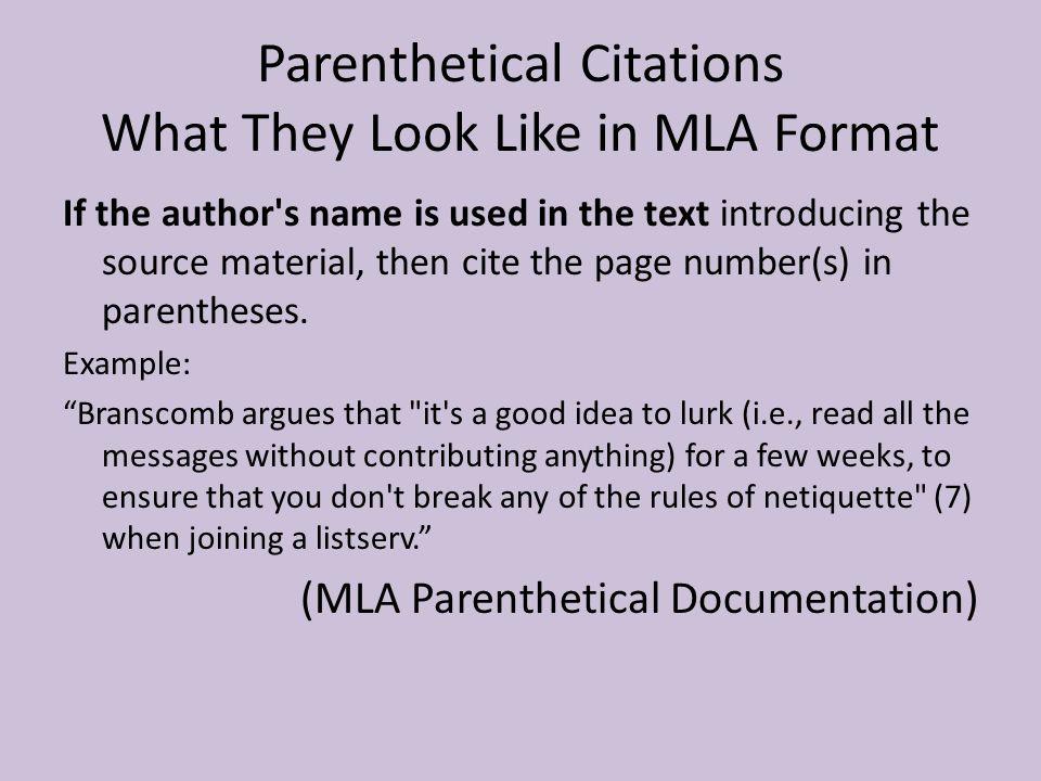 in text citation film