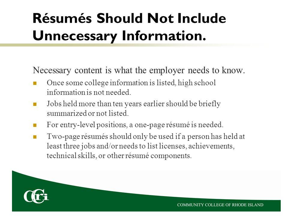 Rsums Dr Karen Petit Process Of Getting A Job A Rsum Is One