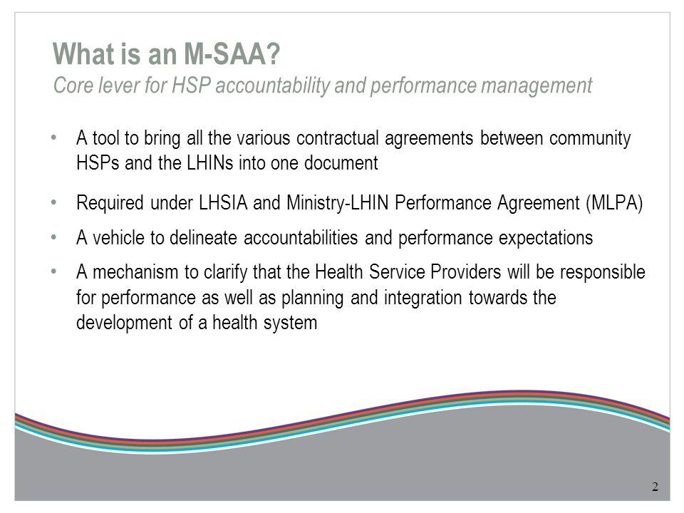 Multi Sector Service Accountability Agreement M Saa Template