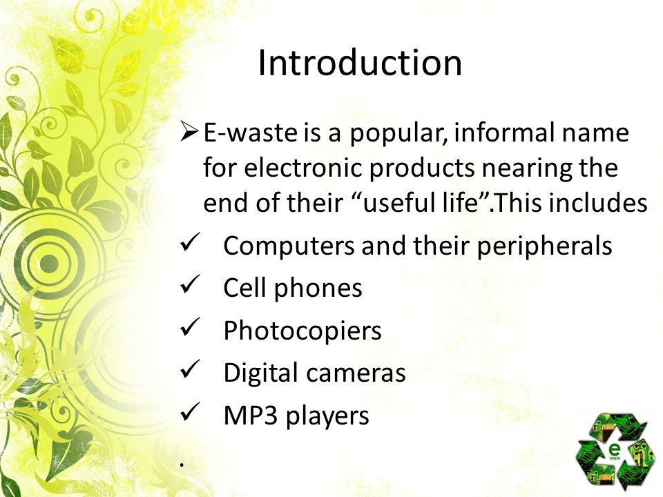 e waste management e waste management introduction e waste is a