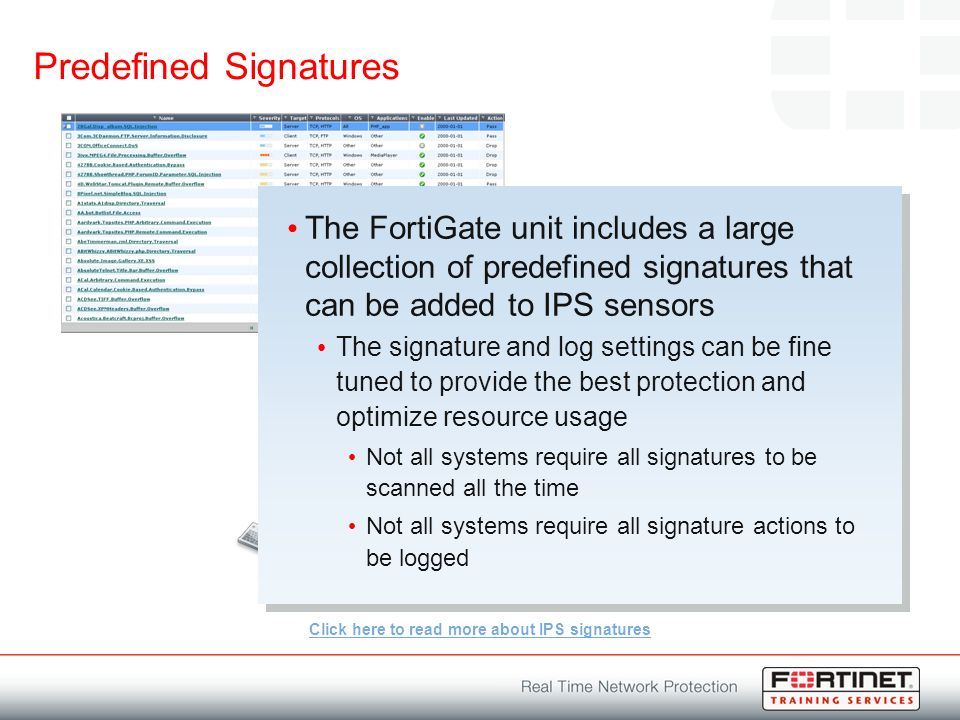 Intrusion Prevention System  Module Objectives By the end of this