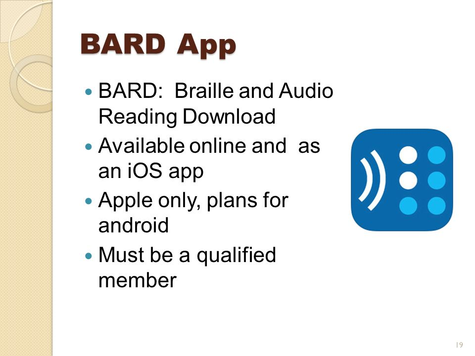 How to register for bard (braille & audio reading download) youtube.